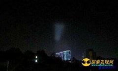 南京长江大桥出现椭圆云团状疑似UFO