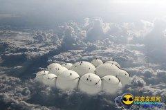 草帽形UFO真的是一朵云彩吗?