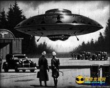 纳粹真与外星人勾结仍在南极地下试验!