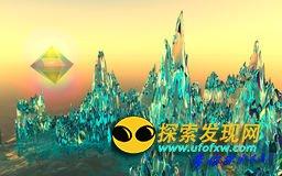 """震惊非洲:惊现神秘的""""玻璃山"""""""