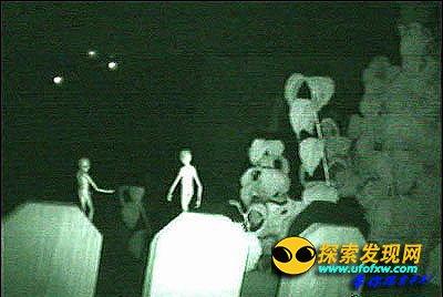 在一个核基地附近的近距离遭遇外星人事件