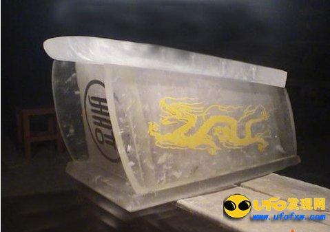 80年代黄河透明棺材