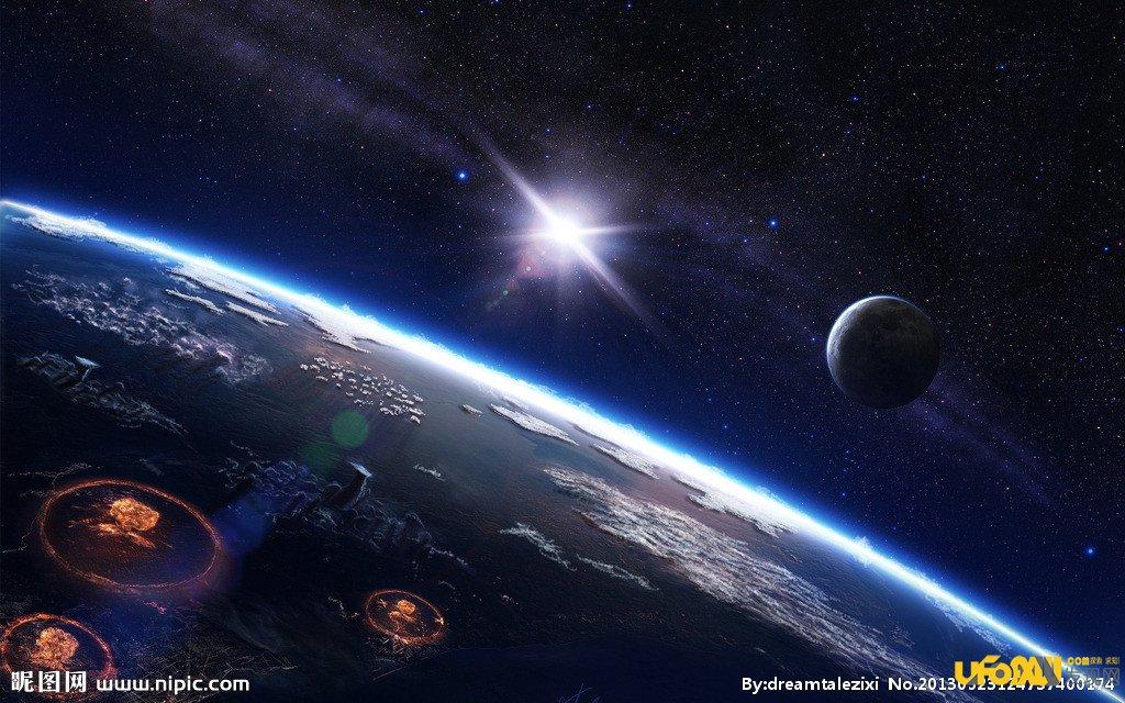 宇宙是如何运行的;微观尺度上的无序微粒