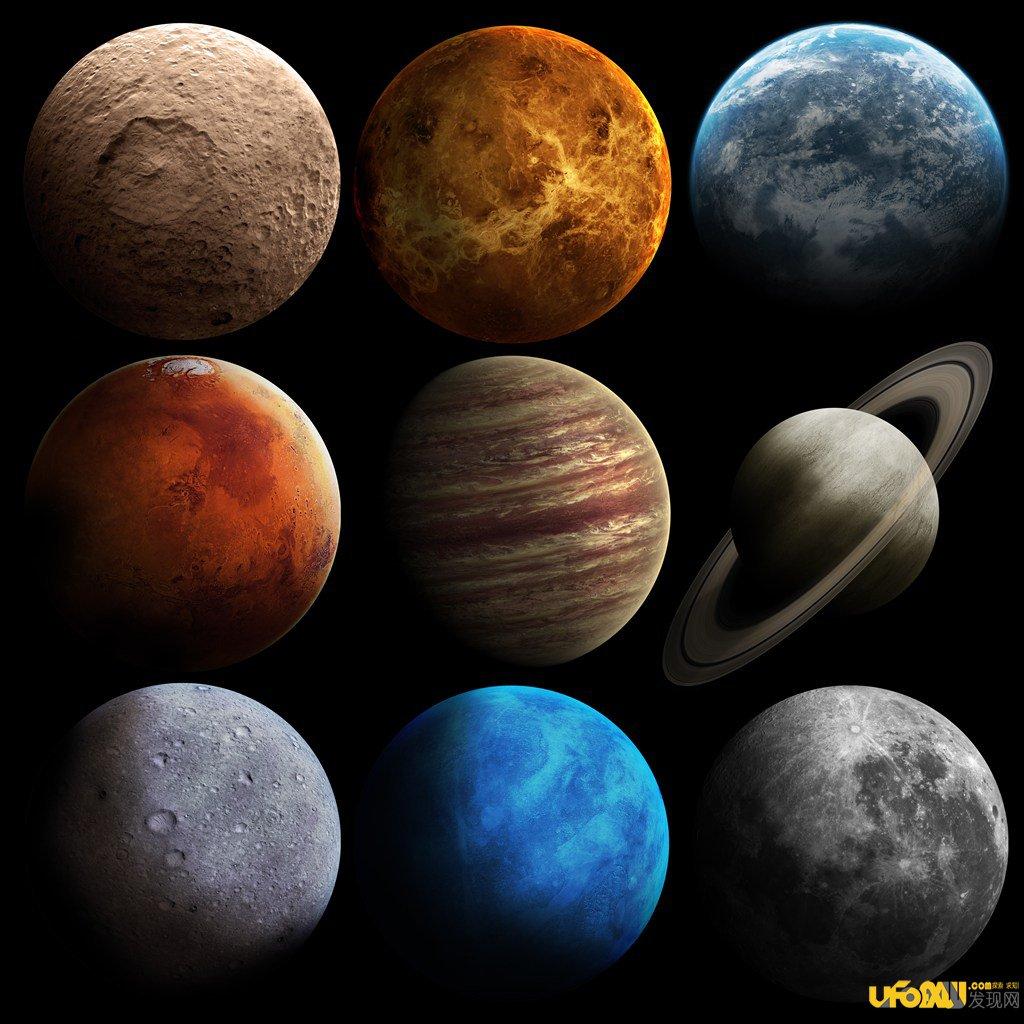 科学家发现太阳系九大行星 2图片