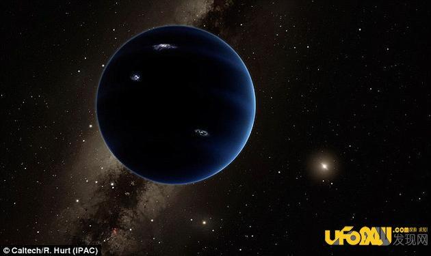 """太阳系隐藏大行星之谜:""""行星X""""或致恐龙灭绝"""