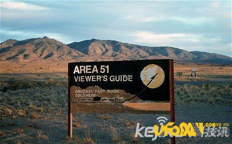 谷歌地图拍到美国第51区军事基地出现UFO证据 2