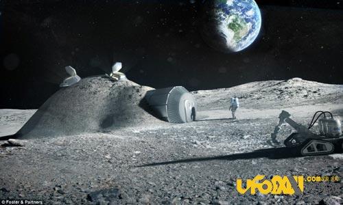 我们已经启动月球移民计划:月球基地再建中
