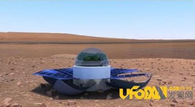 美国宇航局火星移民计划,在火星上种植绿色植物