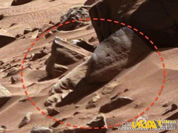震惊世界,美国NASA公布火星或存在外星人