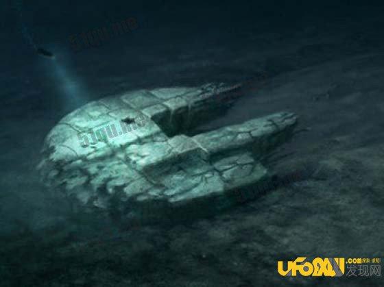 海海底发现神秘外星飞船,震惊世界