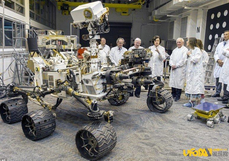 火星探测车好奇号或将是行星间最牛探测车