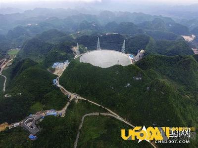 """中国""""天眼""""建设完工,即将投入宇宙探索任务中"""