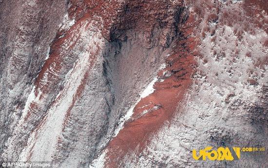 火星表面沟壑可能是因温差变化引起,火星可能不存在水