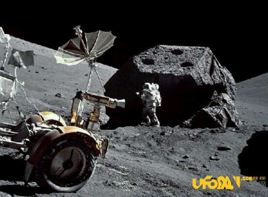 外星人就在月球背面:月球背面惊险几十亿年前飞船