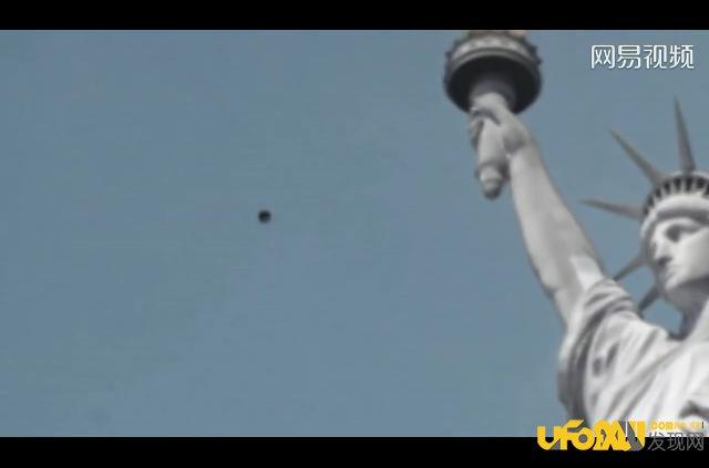 美国ufo事件越来越嚣张:竟公开飞过自由女神像