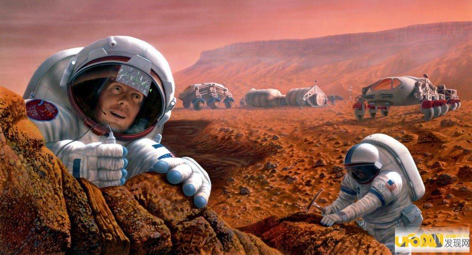 科学家称美国曾秘密登陆火星:却以失败告终