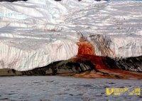 """南极泰勒冰川""""血瀑布""""源头可能是来自冰川下已形成超过100万年的盐湖"""