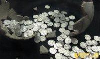 西班牙发现重达600公斤的古罗马钱币 估值数百万