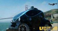 迪拜警方配备自动驾驶巡逻车 车辆还搭载无人机