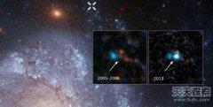 哈勃捕捉到僵尸之星 距地球1.1亿光年