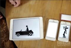 新玩具:14台苹果设备演出美妙的故事