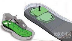 给力充电鞋垫:走几步给你手机充上电