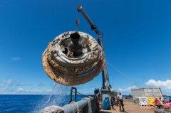 NASA测试飞碟 为未来载人登陆火星铺路