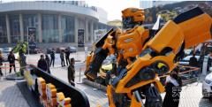 现实版变形金刚!可变幻的未来机器人