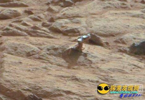 火星人存在的新证据:火星惊现门把手