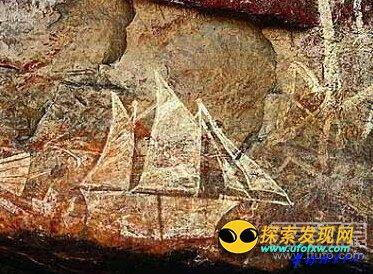 澳大利亚岩画揭示外星人光临过地球!