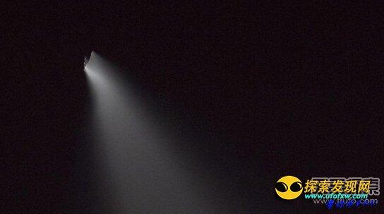 新疆多地出现UFO   疑是俄罗斯火箭