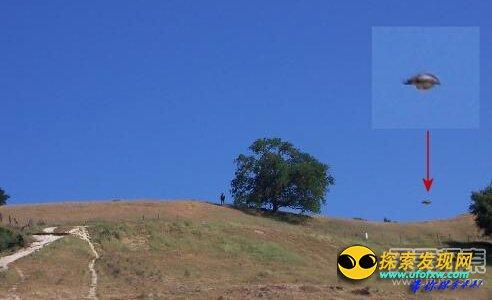 昆明再现UFO 专家称可能是不明飞