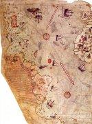 神秘的世界地图 难道又是外星人绘制
