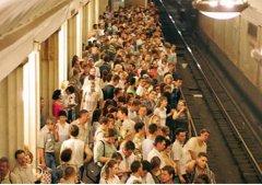 莫斯科的地铁里集体失踪案