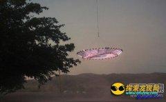 艺术家自制UFO探究人类对飞碟的反应