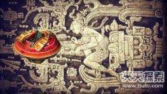 神秘的玛雅浮雕 宇宙飞船竟清晰可见