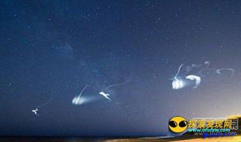 "UFO再现:欧洲大量出现""鬼魂火箭"""