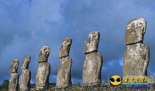 英电视节目声称复活节岛石像是外星人的杰作英国