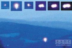 挪威的赫斯达伦峡谷频现神秘光球UFO