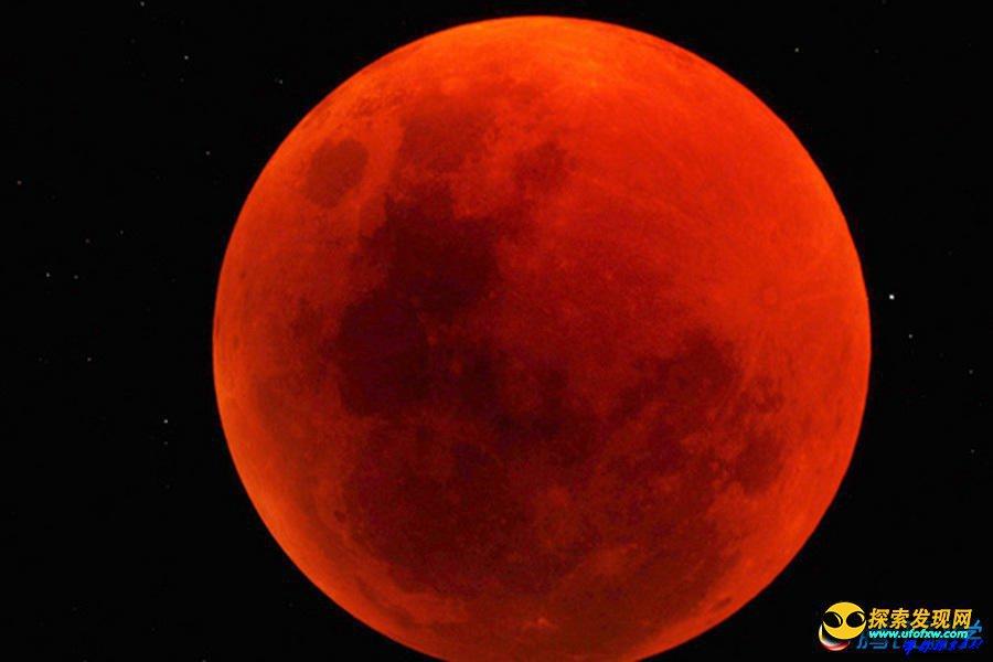 """2014年美国将能看到""""血月""""奇观"""