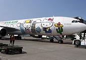 台湾的Hello Kitty主题航班